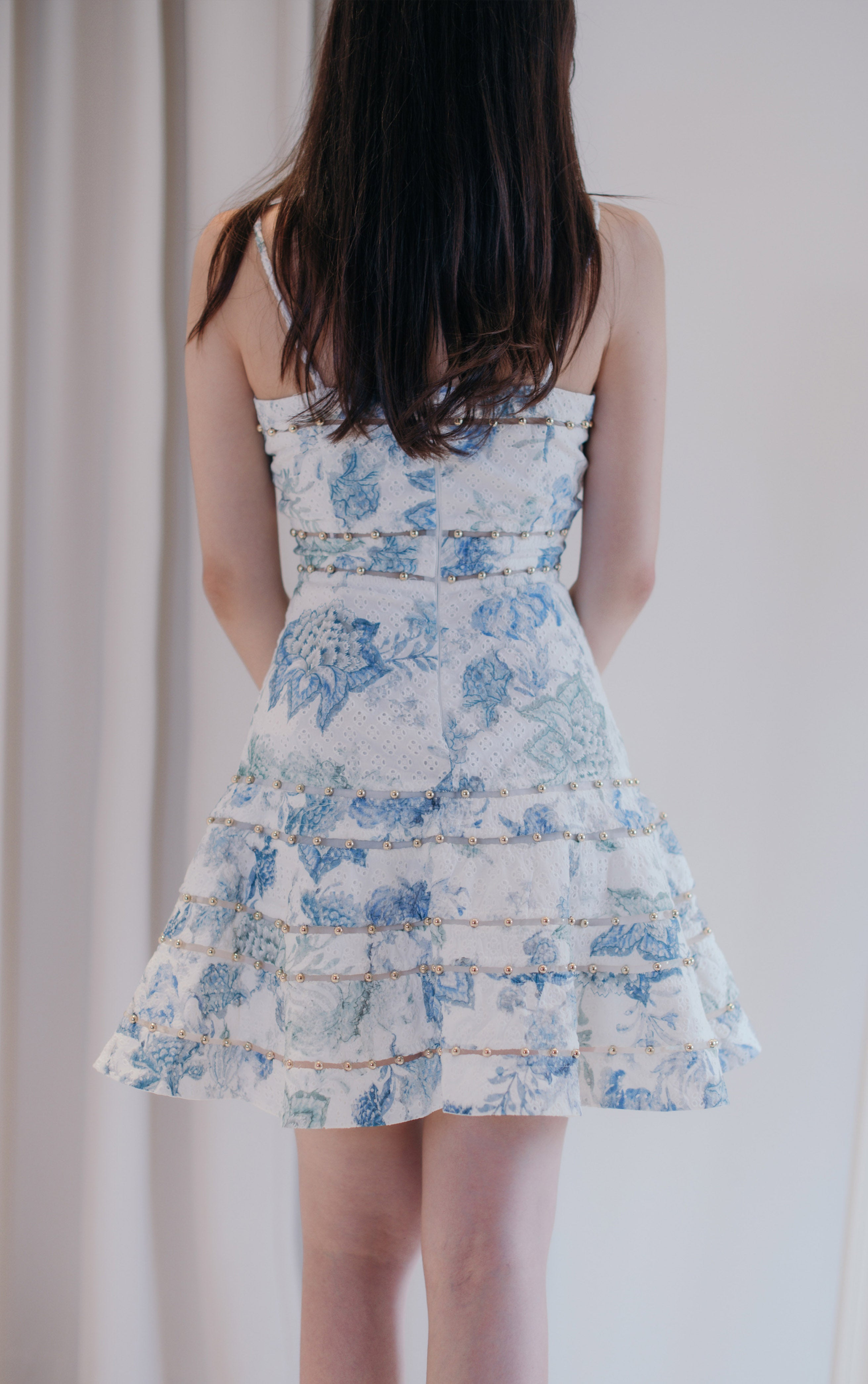 Enchanted Flower Garden Mini Dress