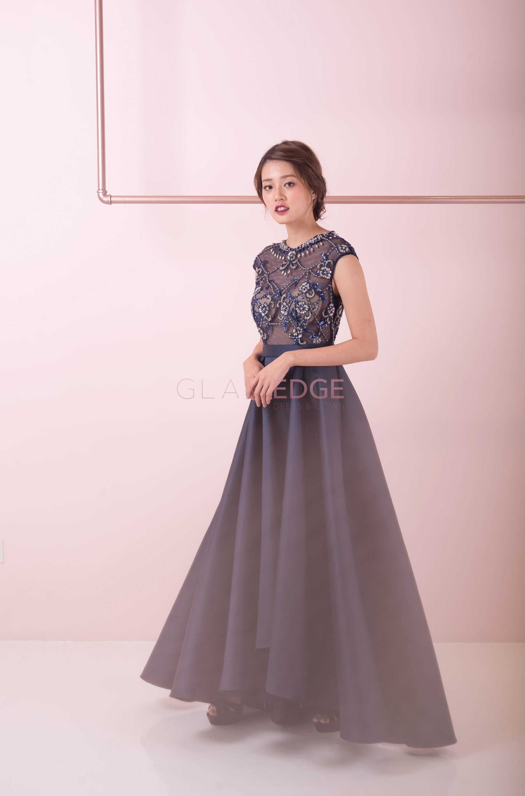 Clara Beaded Gown