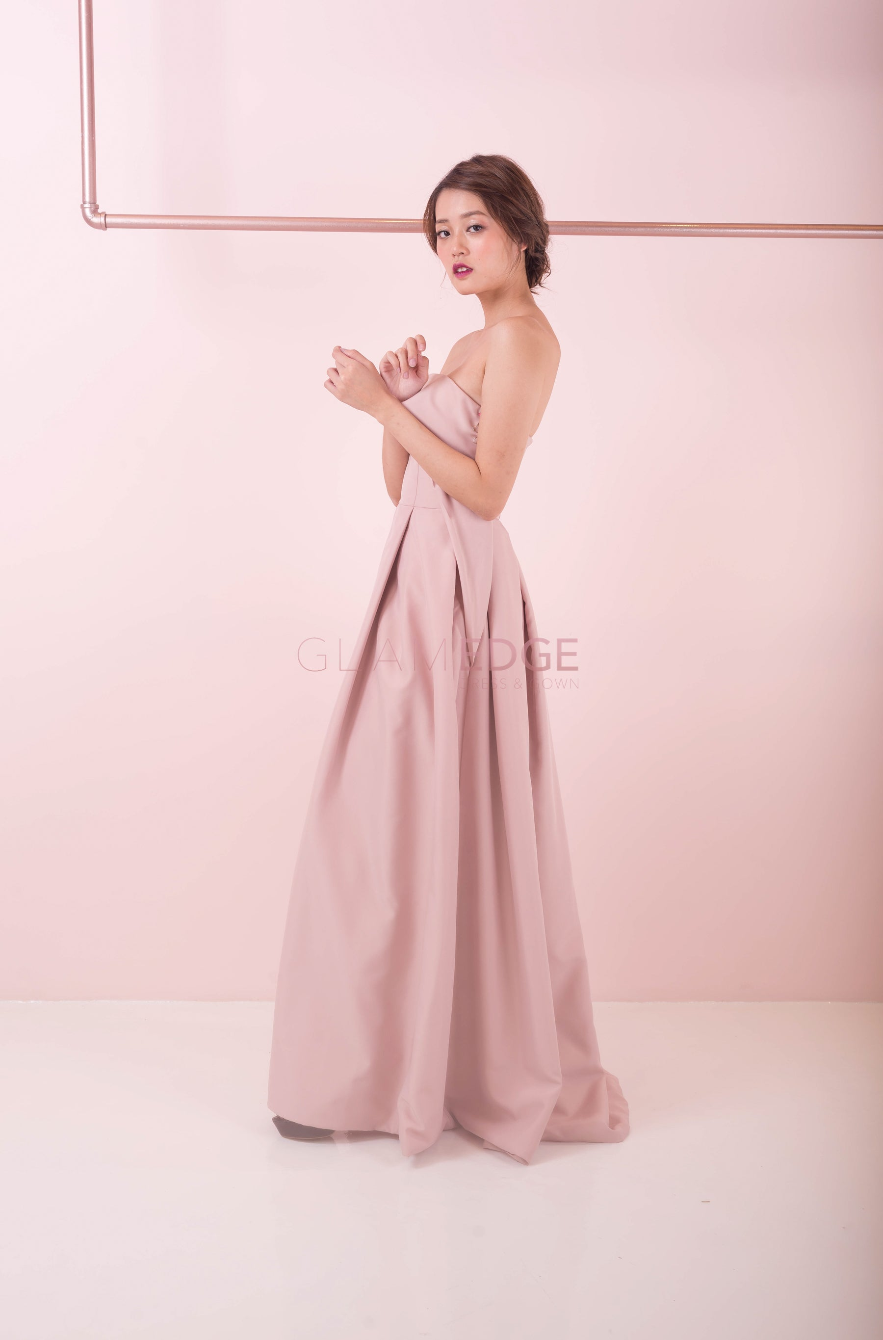 Misty Pink Gown