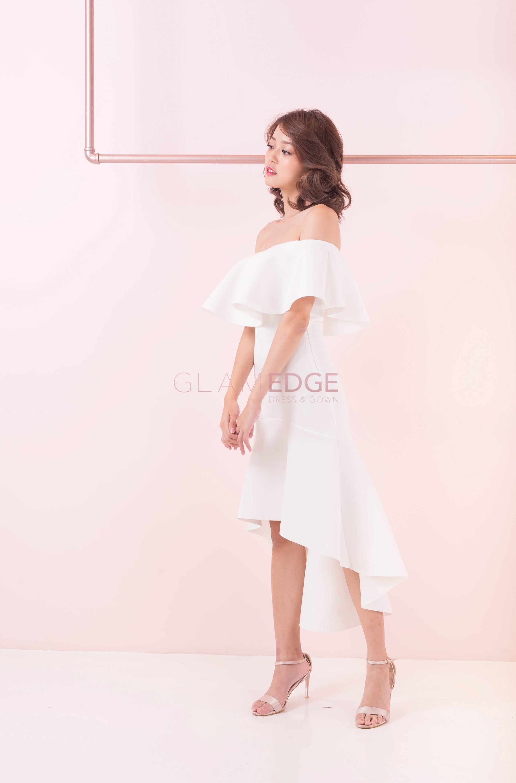 Hannah Off Shoulder Dress