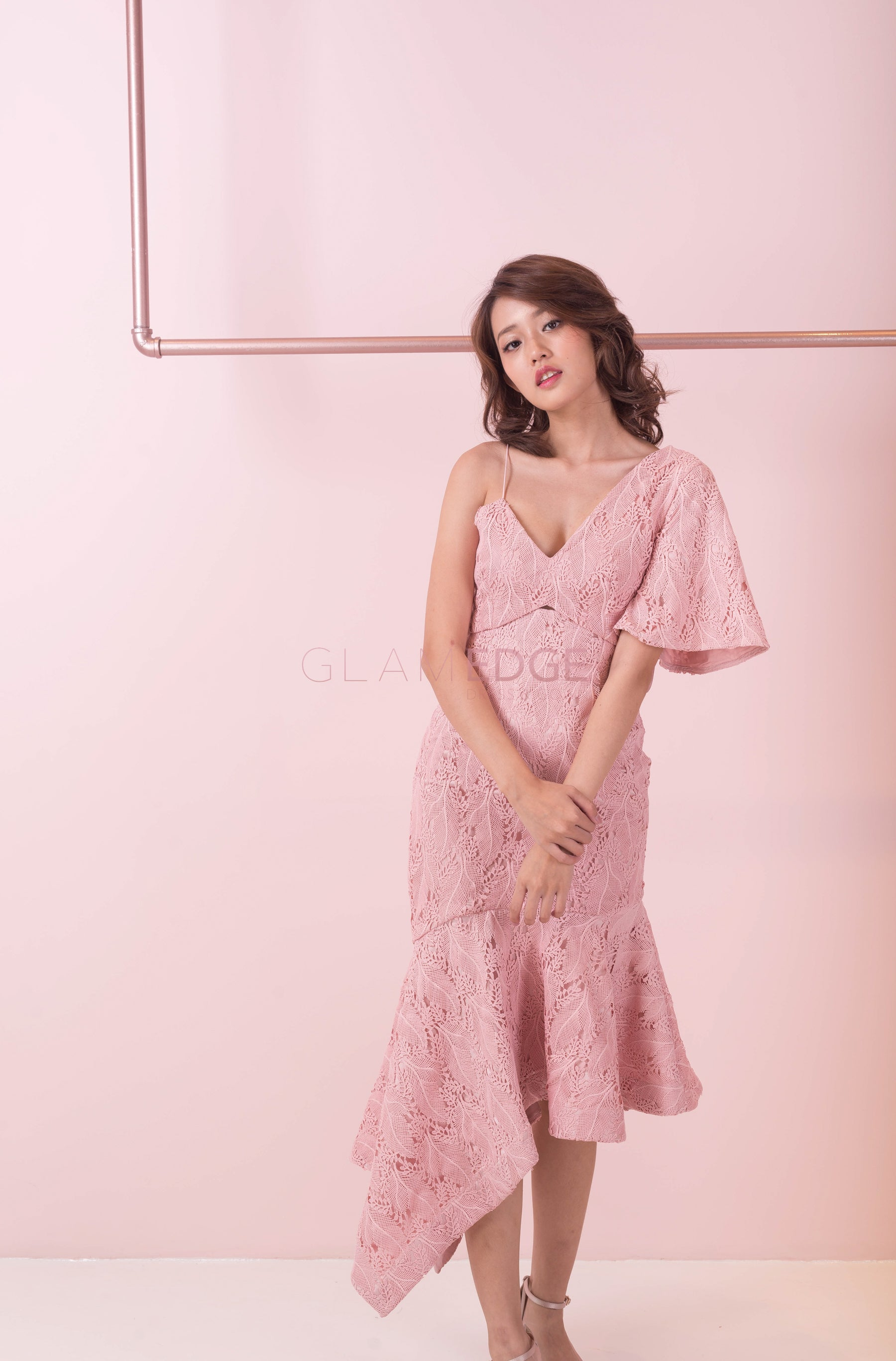 Pink Hearted Dress