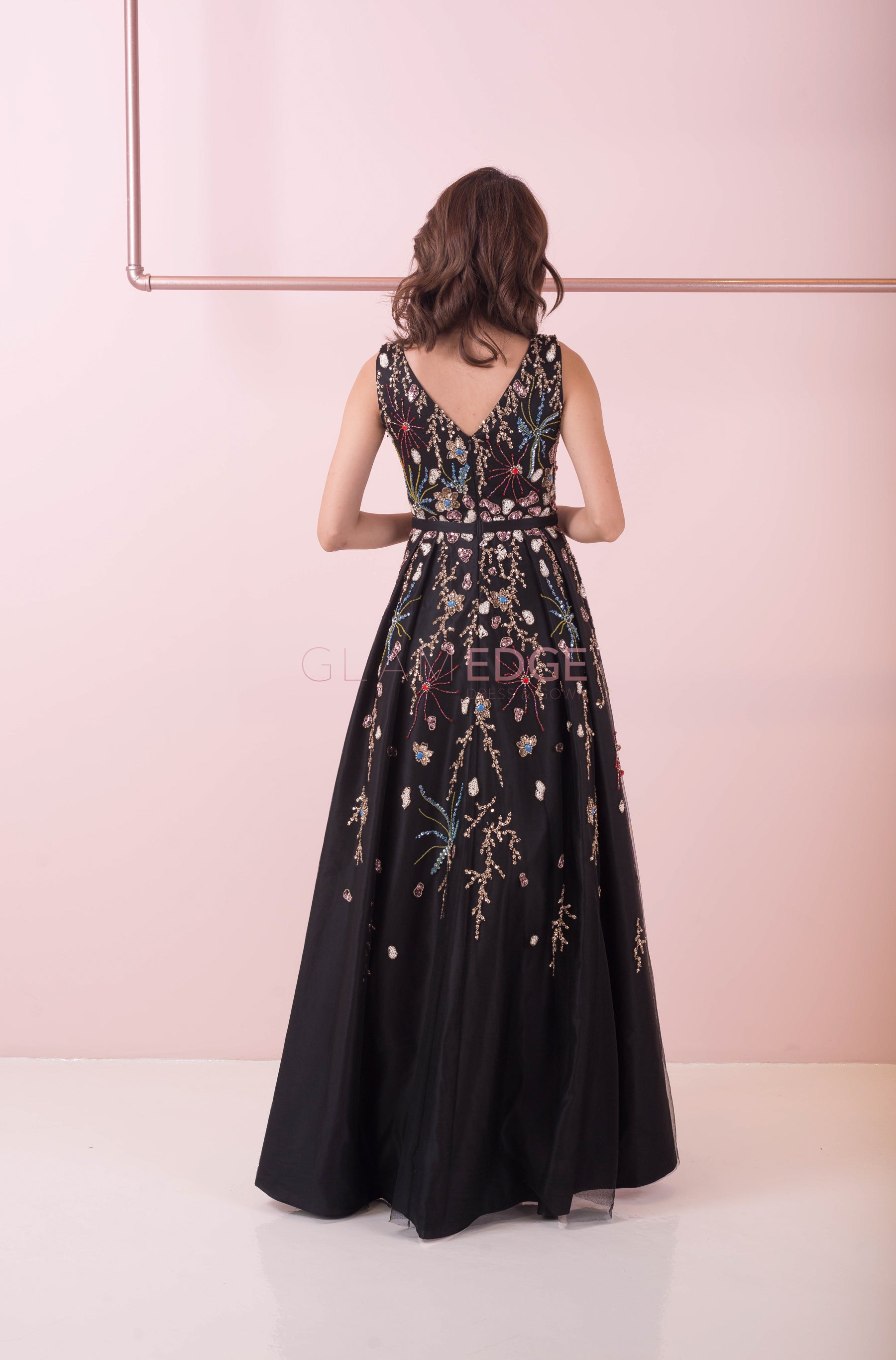 Midnight Garden Gown