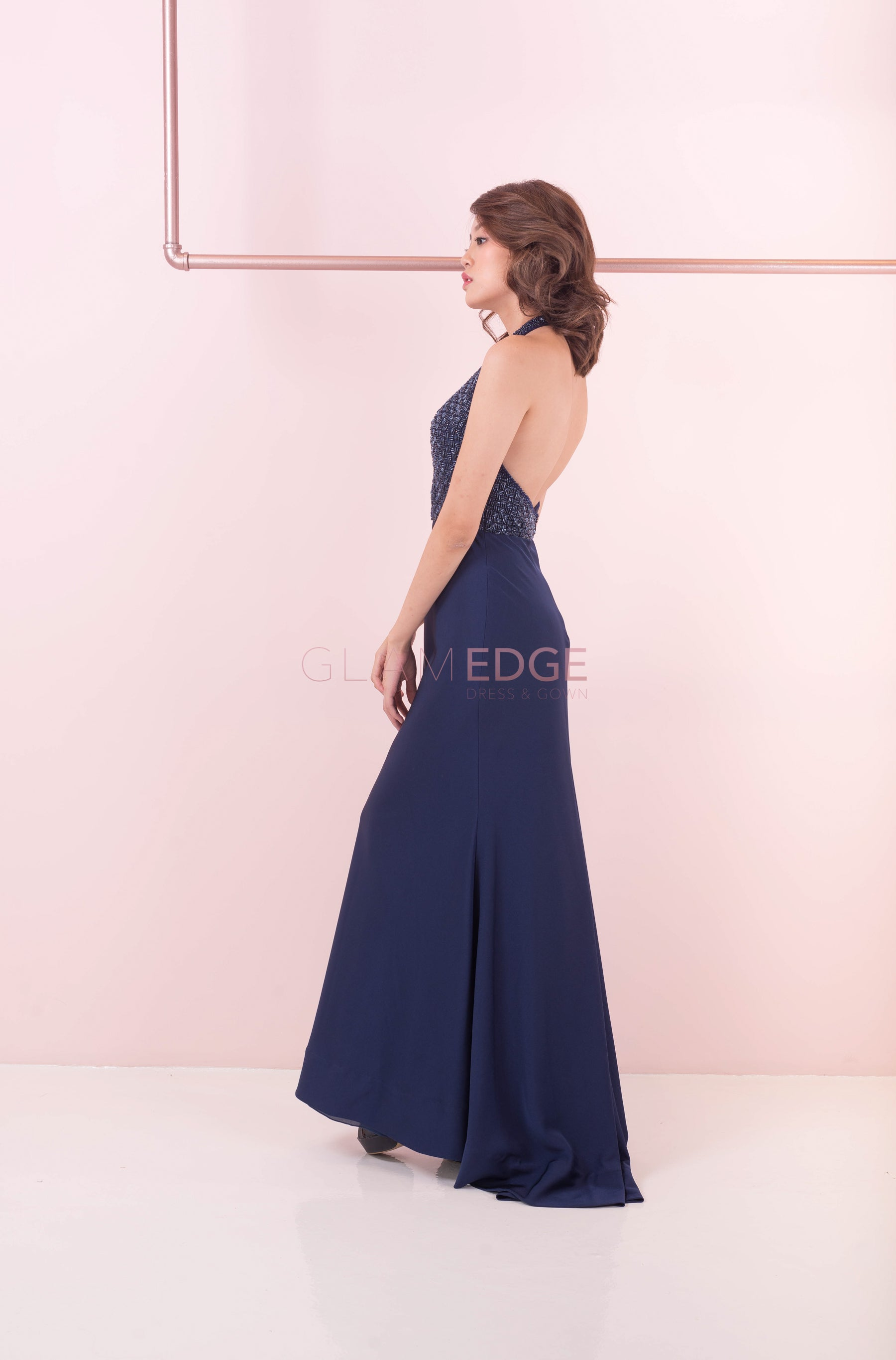 Elizabeth Backless Dress