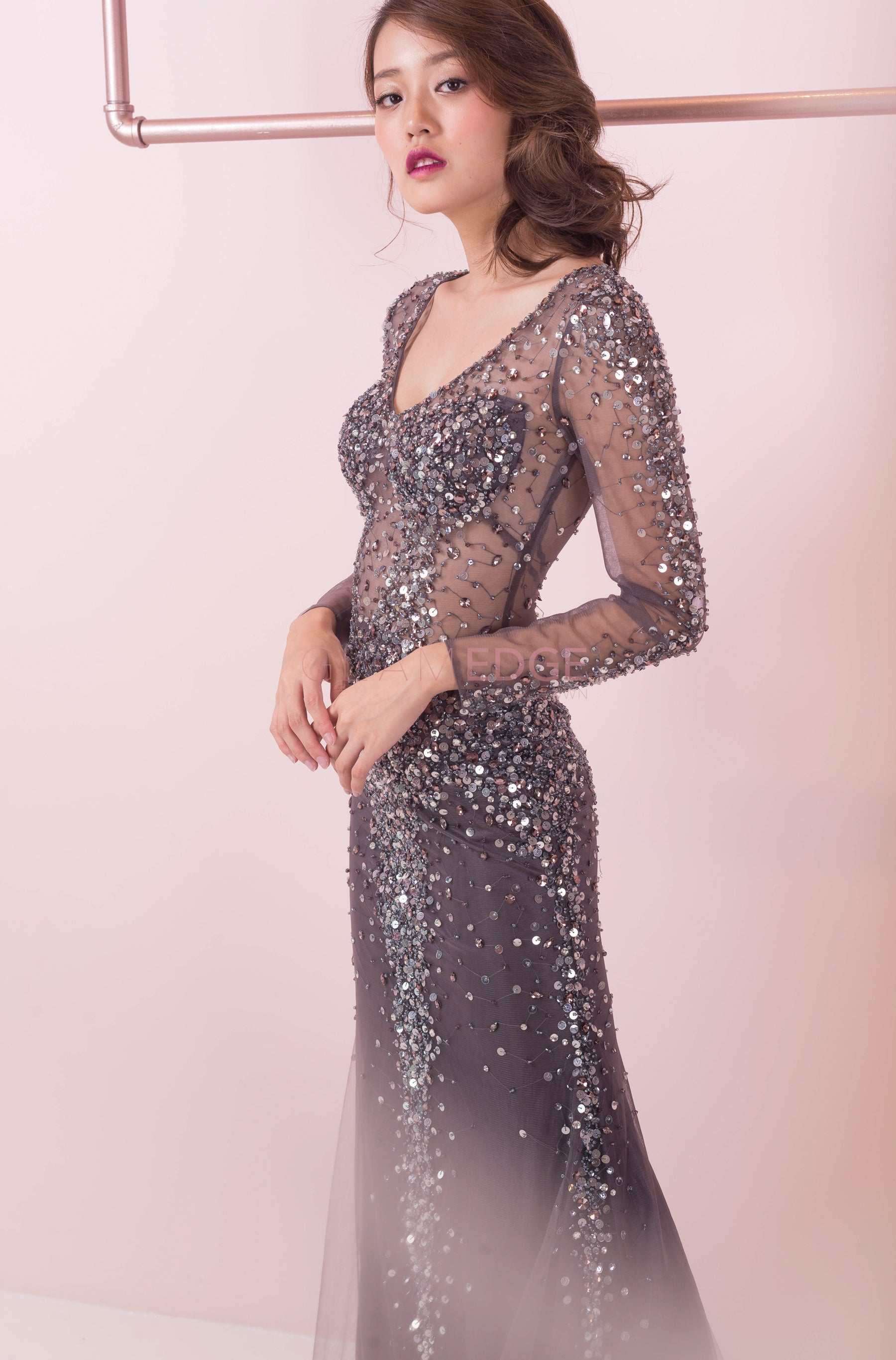 Midnight Constellation Gown