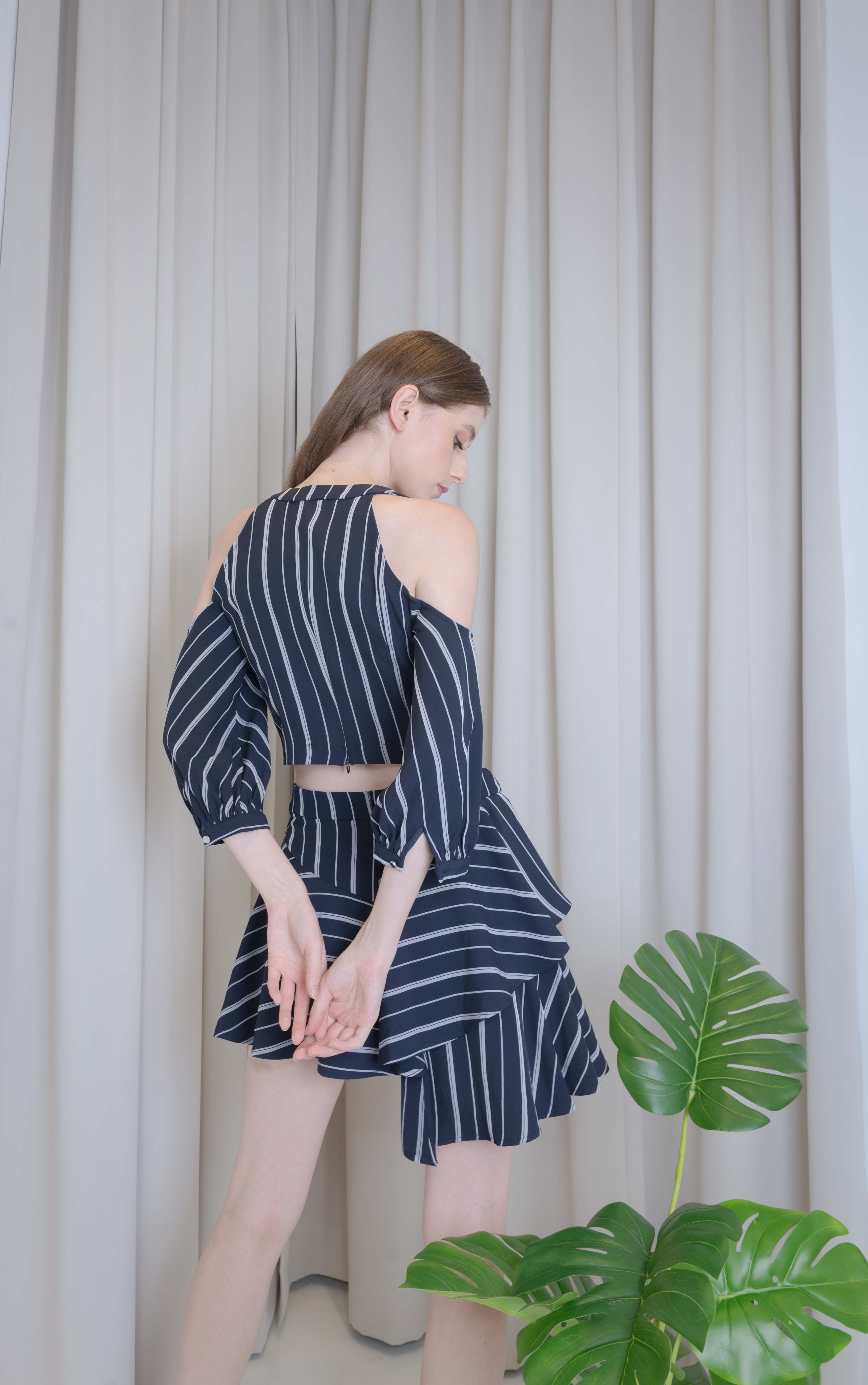 Black Stripe Set Wear