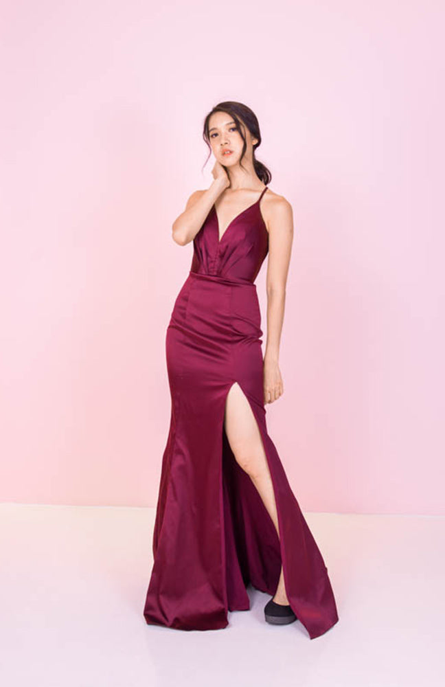 JA Berry Silk Gown