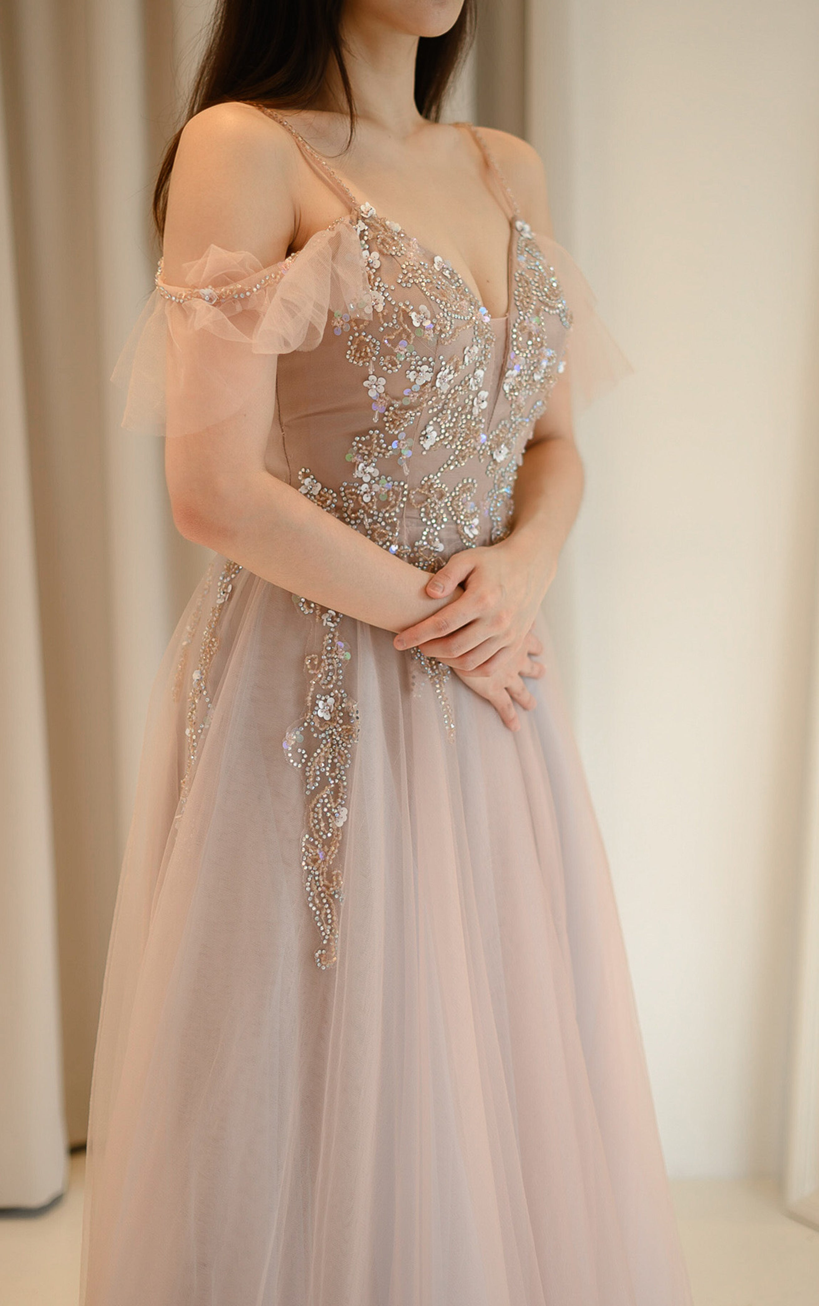 Lite Ana Pink Gown