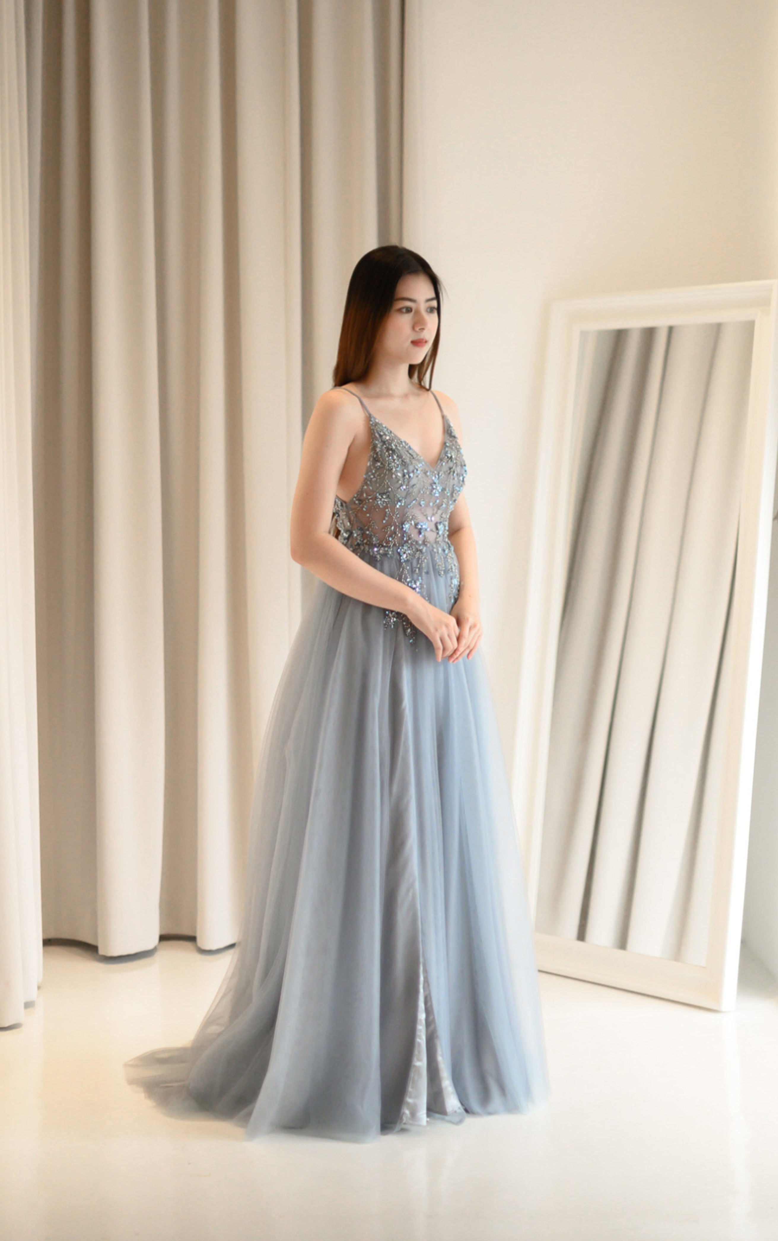 Ophelia Blue Gown