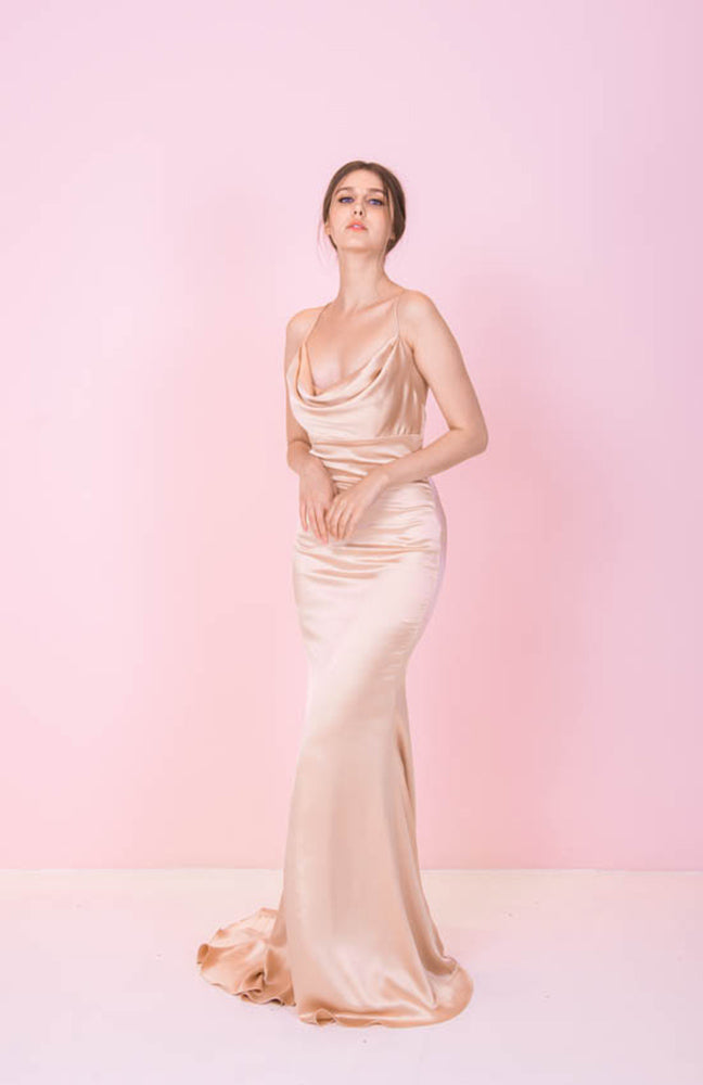 PS Dana Gold Gown