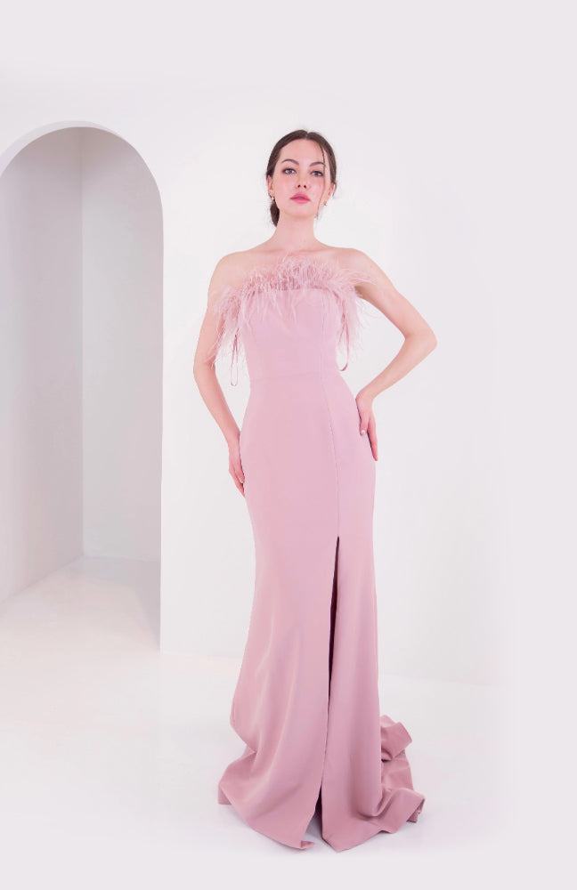 PS Furry Pink Gown