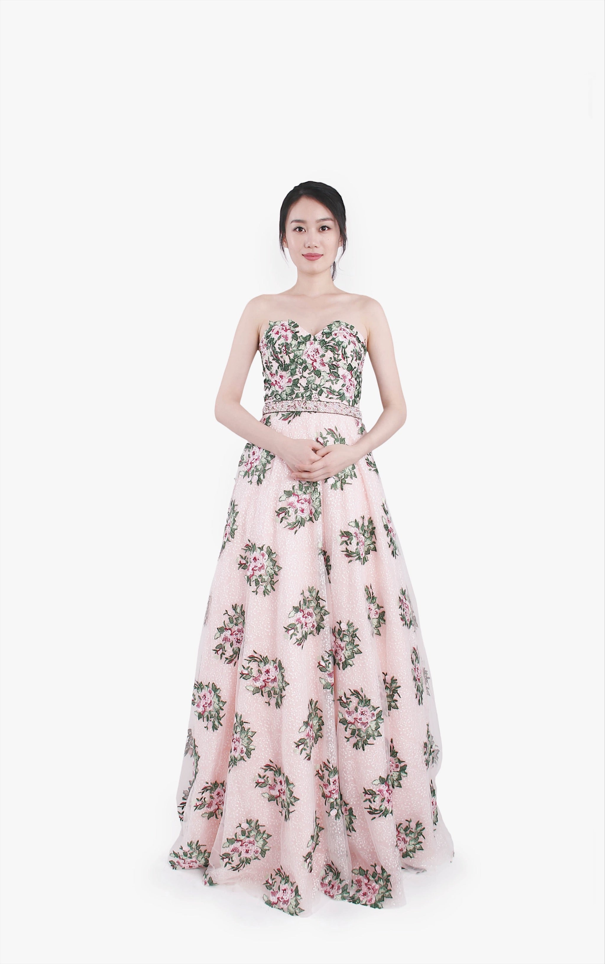 Jovani Soul Blossoming Gown