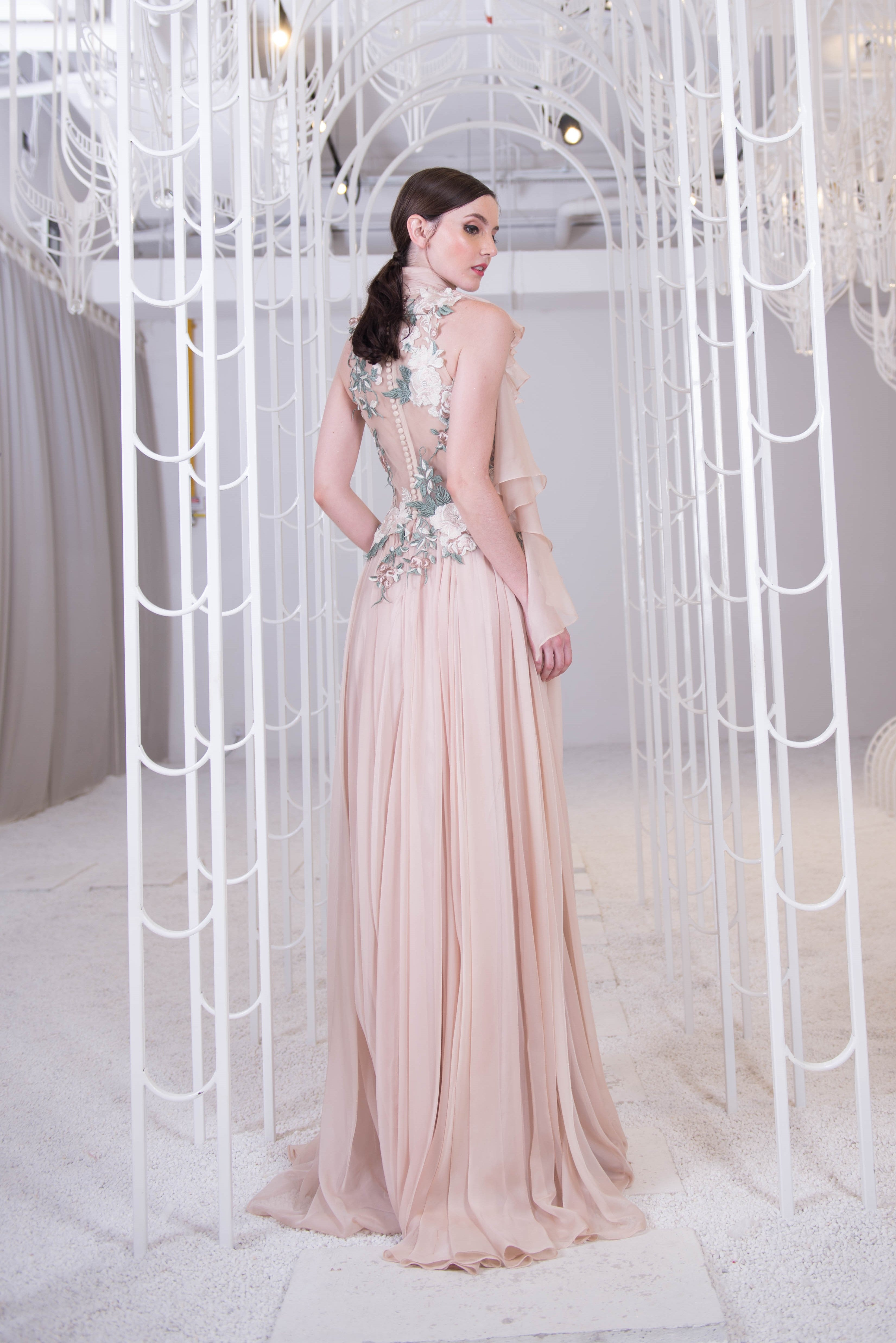 PS Danielle Nude Gown