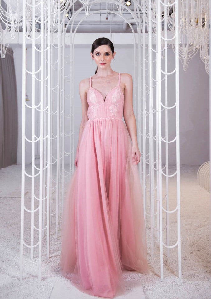 Doris Sweet Pink Gown
