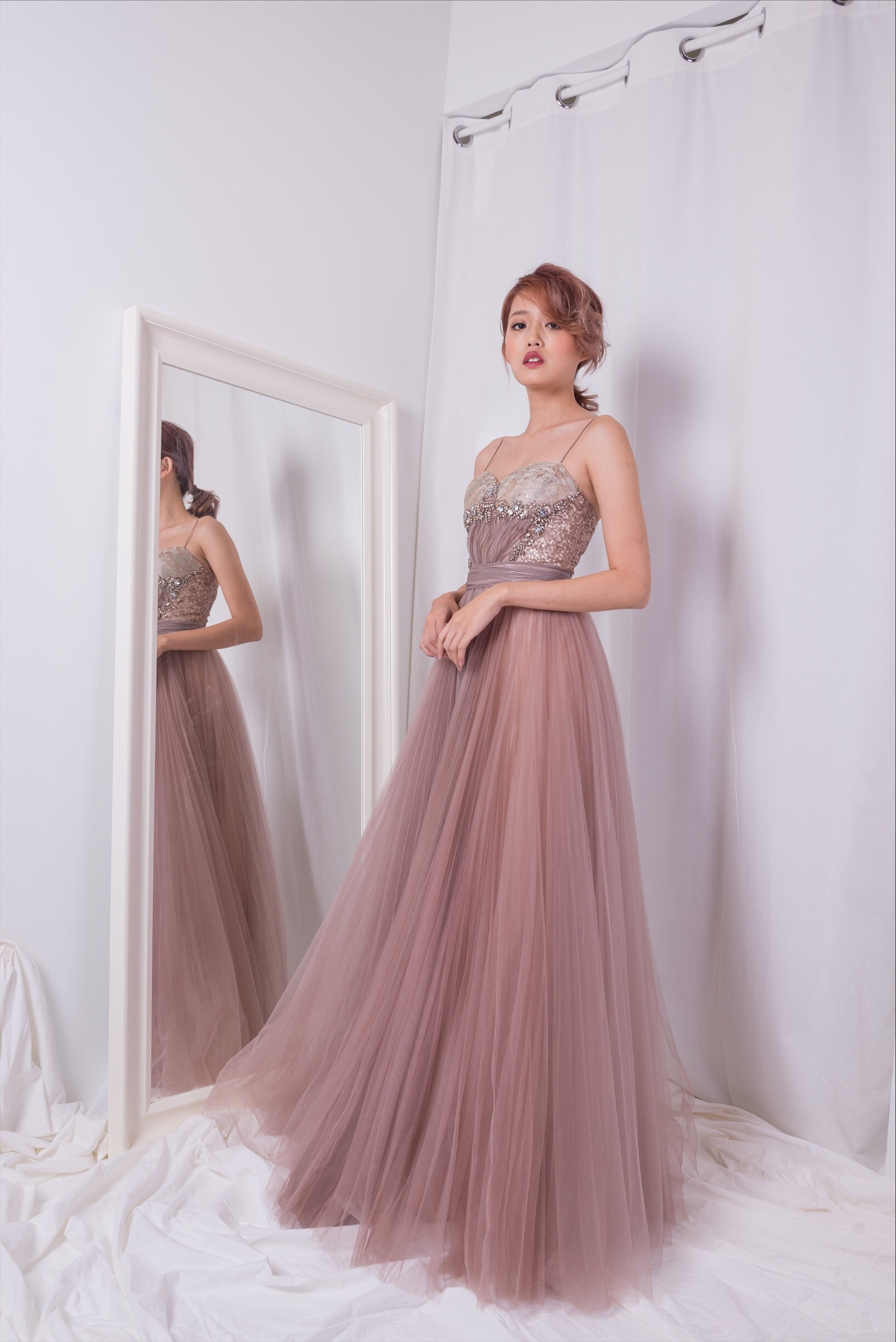 Angelic Pink Parisian Gown