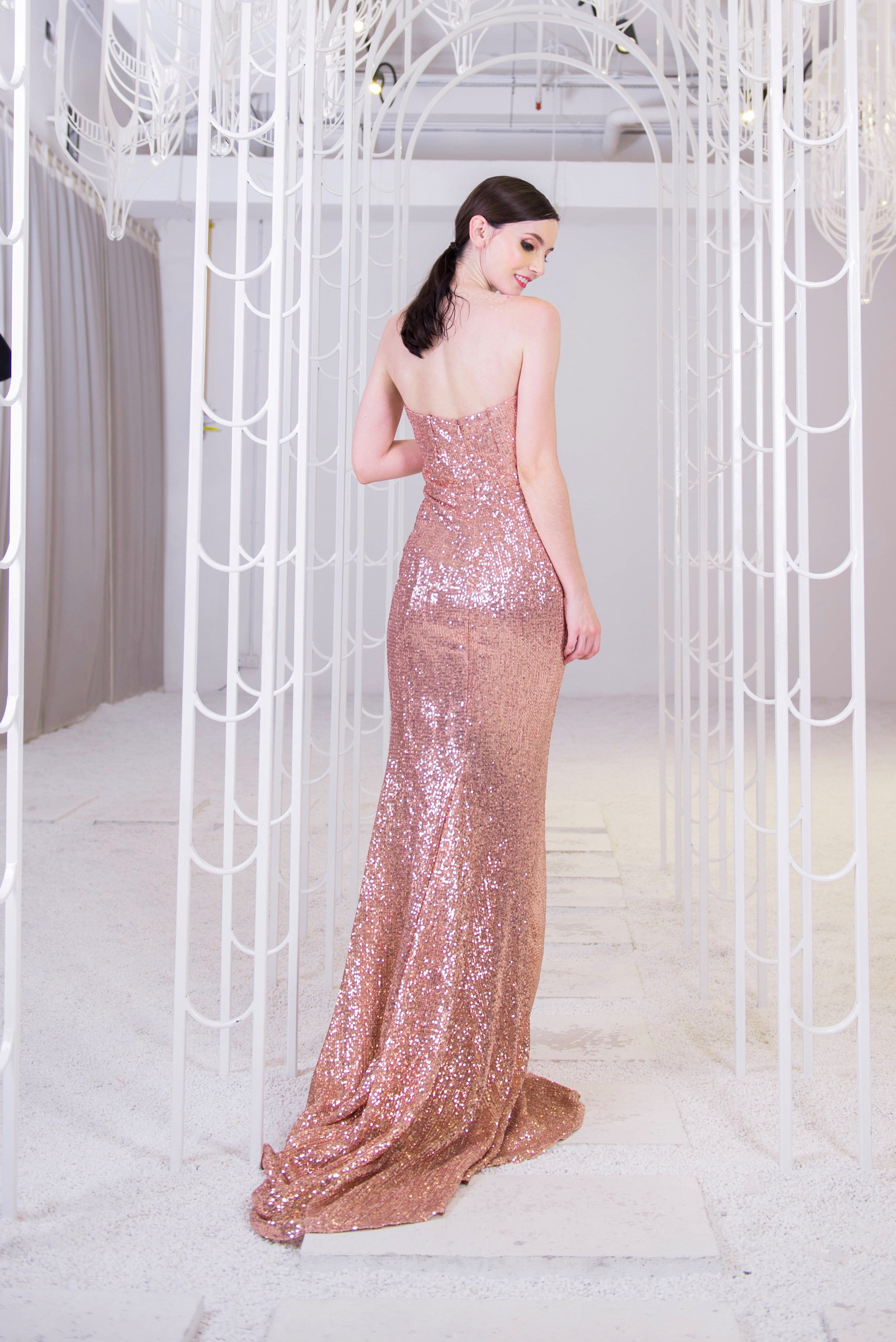 PS Rose Gold Gown