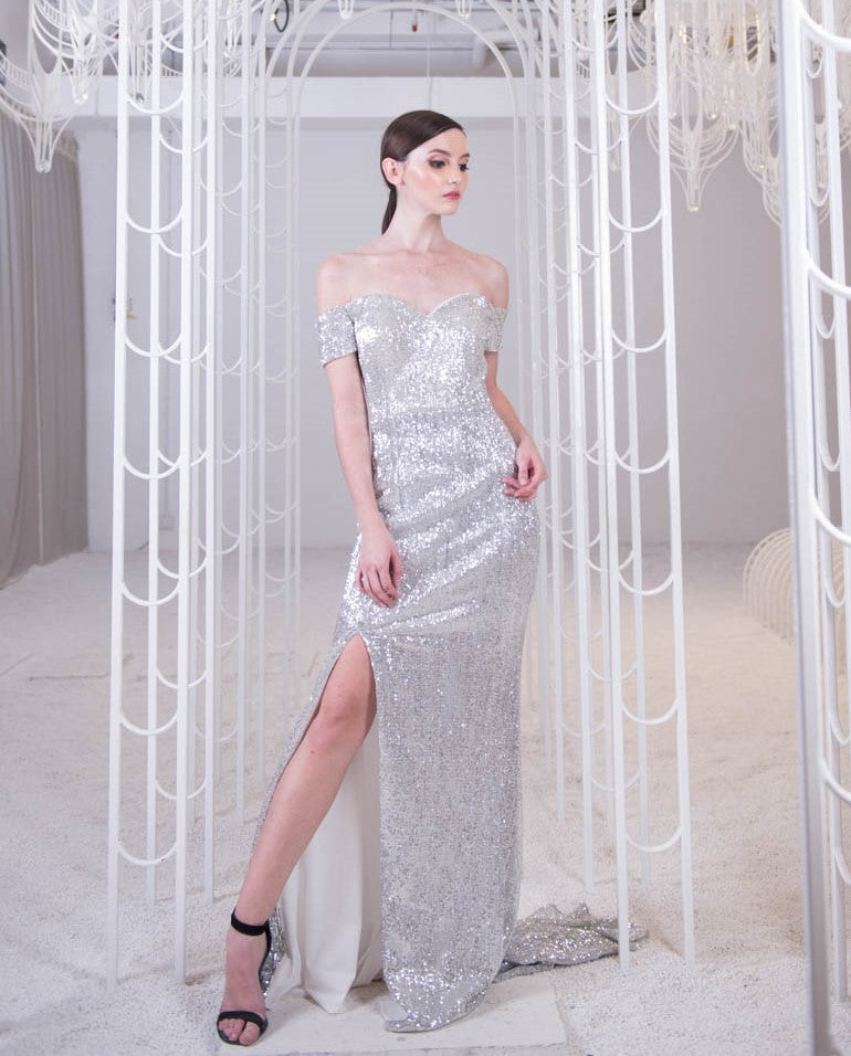 PS Silver Gown