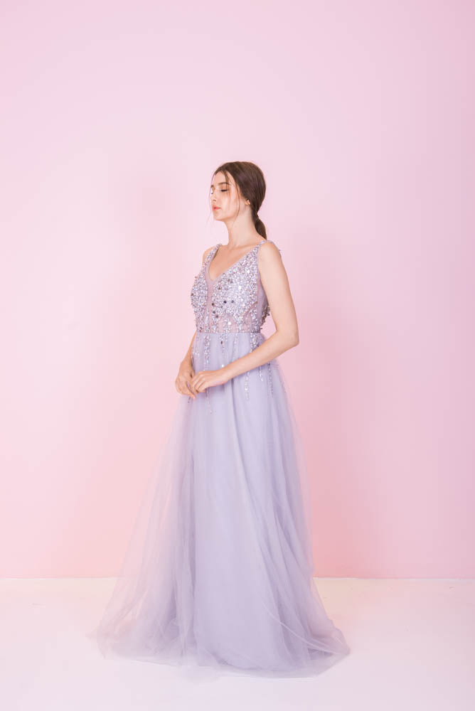 Silver Linings Grey Gown