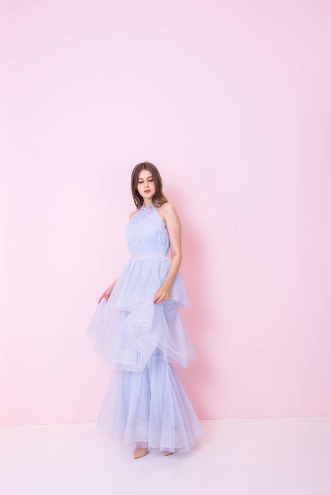 Sky Angelic Gown