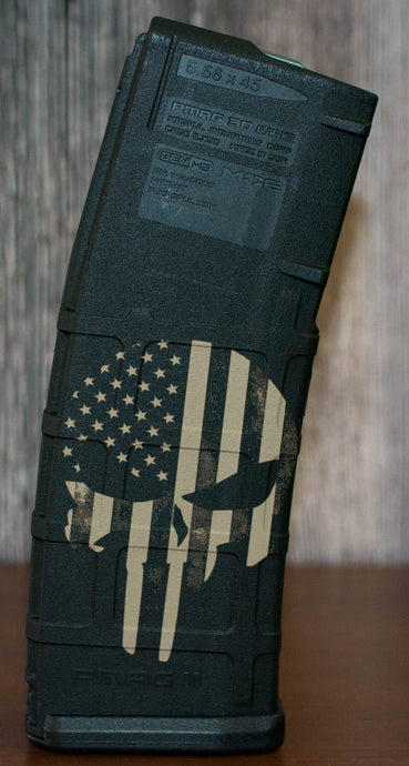 Punisher Flag PMAG