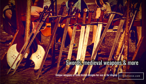 Swords & Other Weaponry