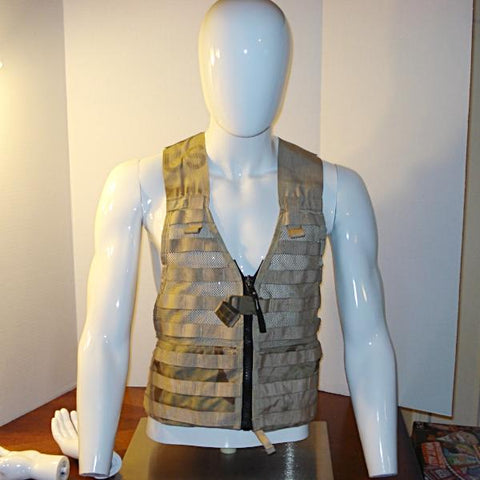 Vest Military Surplus Coyote Brown MOLLE II Modular Fighting Load Carrier (FLC) Tactical Vest