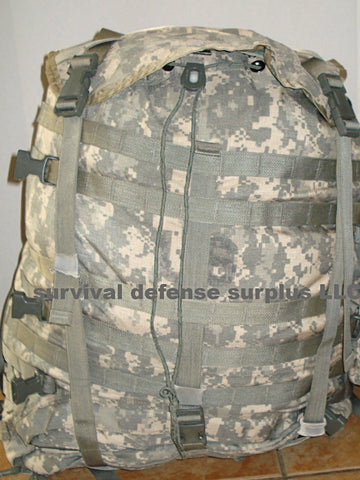 MOLLE ll Modular Lightweight Large Rucksack Fabric Body , ACU Pattern  U.S. MILITARY SURPLUS NSN 8465-01-524-5285 /ITEM#MPAK100