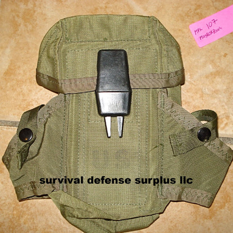 Olive Drab Military surplus Alice magazine pouch/ ITEM#MPAK107