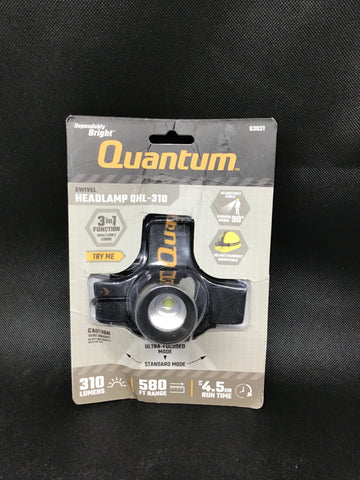 Quantum Headlamp 310 Lumen flashlight QHL-310