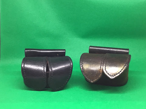 2 Safariland Leather Speed loader pouches 350-1 350-3