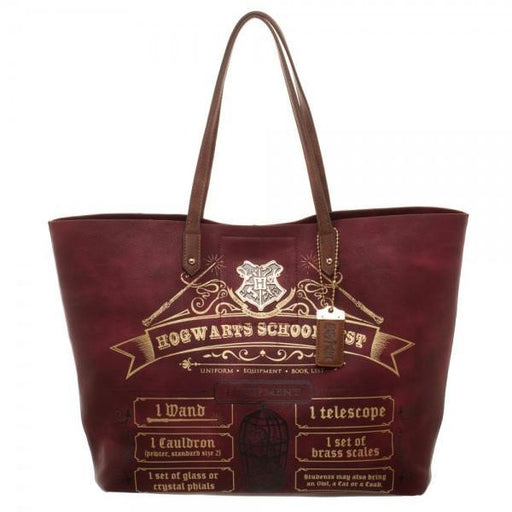 Harry Potter Hogwarts School List Tote Shoulder Bag
