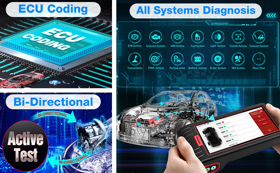 THINKCAR® Thinkscan Max Bluetooth  OBD2 All System Scan Tool Lifetime Free Update