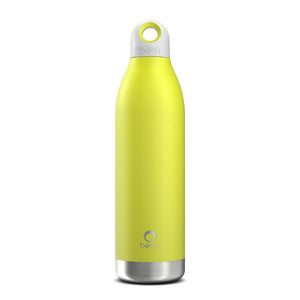 Bevu® DUO Insulated Bottle Lemon. 550ml / 18oz - A Woman Knows Best