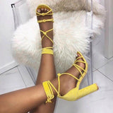 Fashion 2018 Roman Strap High Heels Shoes Women - A Woman Knows Best