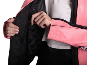 MotoArt Racing ProSeries I Pink, White and Black - A Woman Knows Best