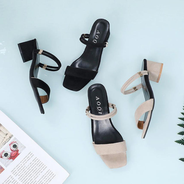 Summer Sexy Female Casual High Heeled Shoes Women - A Woman Knows Best