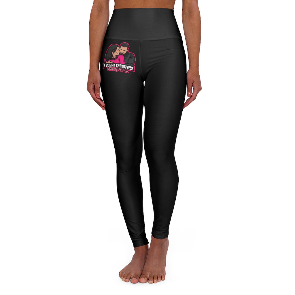 High Waisted Yoga Leggings - A Woman Knows Best