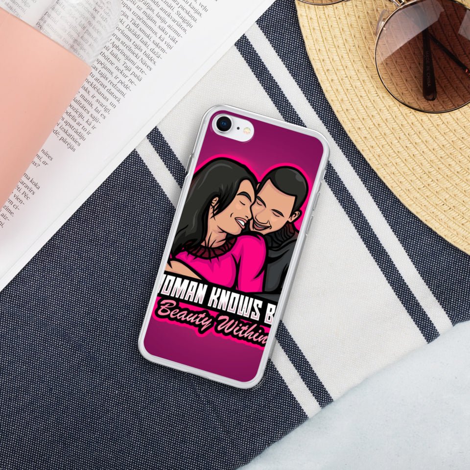 A Woman Knows Best Liquid Glitter Phone Case - A Woman Knows Best