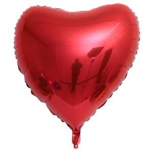 Heart balloon 75cm Red heart shape air party balloons Valentines Day wedding love decorations marriage supplies Foil balloons - A Woman Knows Best