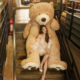 100cm-200cm America Giant Teddy Bear Plush Toys Soft Teddy Bear Skin Popular Birthday & Valentine's Gifts For Girls Kid's Toy - A Woman Knows Best