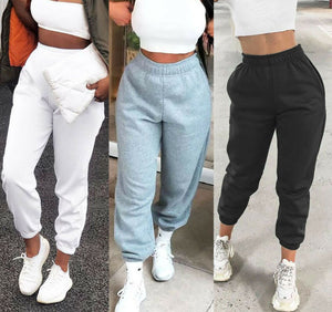 Women Casual Sweatpants Jogger Dance Harem Pants Sports Baggy Trousers solid  fitness pants Casual Girls Drawstring Long Pants - A Woman Knows Best