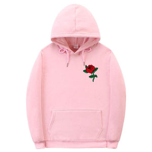 New Fashion 2019 Autumn Winter Latest Harajuku Poison Rose Print Hoodies High Quality Men Women Hip Hop Streetwear Clothing - A Woman Knows Best