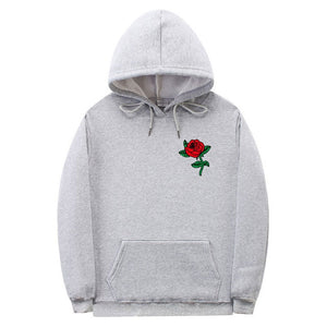 New Fashion 2021 Autumn Winter Latest Harajuku Poison Rose Print Hoodies High Quality Men Women Hip Hop Streetwear Clothing - A Woman Knows Best