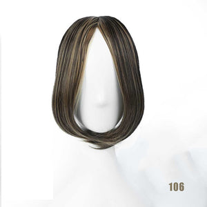 LVHAN Air Bangs Pure Bangs Hair Extension Synthetic Wig Natural Black Light Brown Dark Brown Black High Temperature Fiber - A Woman Knows Best