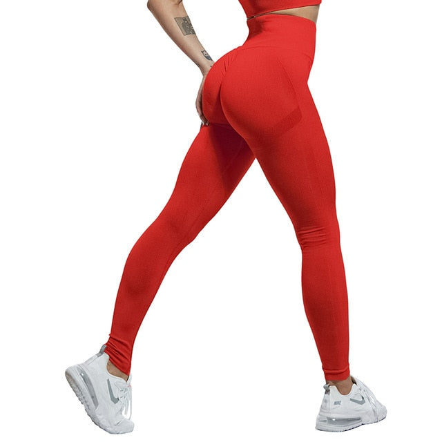 Sexy Women Leggings Bubble Butt Push Up Fitness Legging Slim High Waist Leggins Mujer Seamless Fitness Legging - A Woman Knows Best