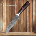 Professional Damascus Veins Knives