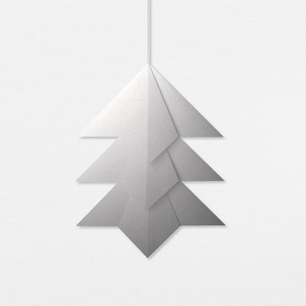 Suspension Sapin - Argent