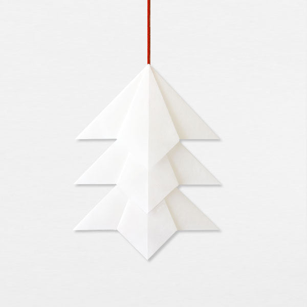 Suspension Sapin - Blanc