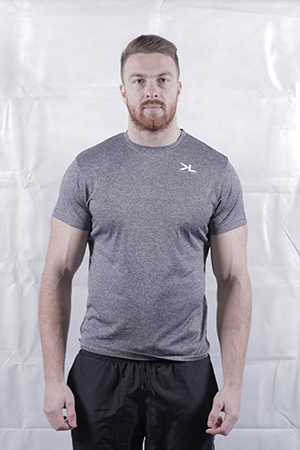 Men's Charcoal Performance T-Shirt
