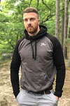 Men's Black/Grey Hoodie