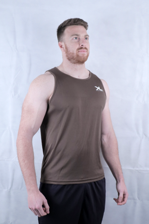 Men's Olive Performance Vest